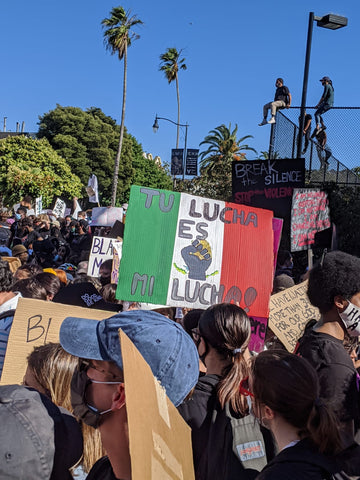 State Of Flux - Shop - San Francisco - Protest - Mexicans for Black Lives - Black Lives Matter - Brown Lives Matter - Activism - 1