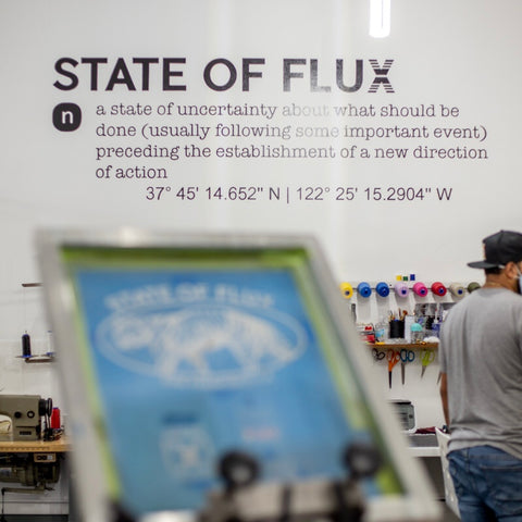 State Of Flux - Shop - Outdoor - Screen-printing - Workshop - How-to - Screen-print - San Francisco - Mission District - 2