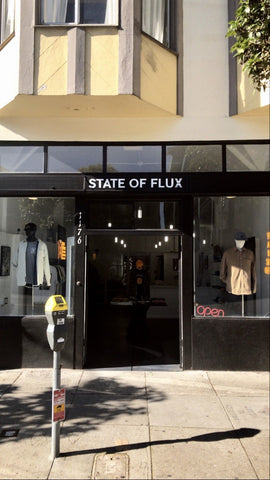 State Of Flux - men's boutique - shop - san francisco - mission district - one year anniversary - 1