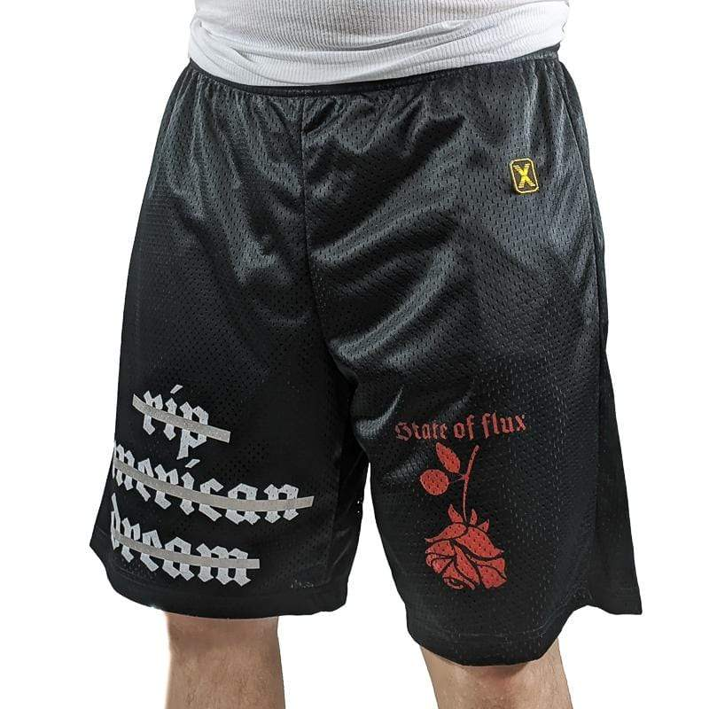 American Dream Mesh Shorts in black