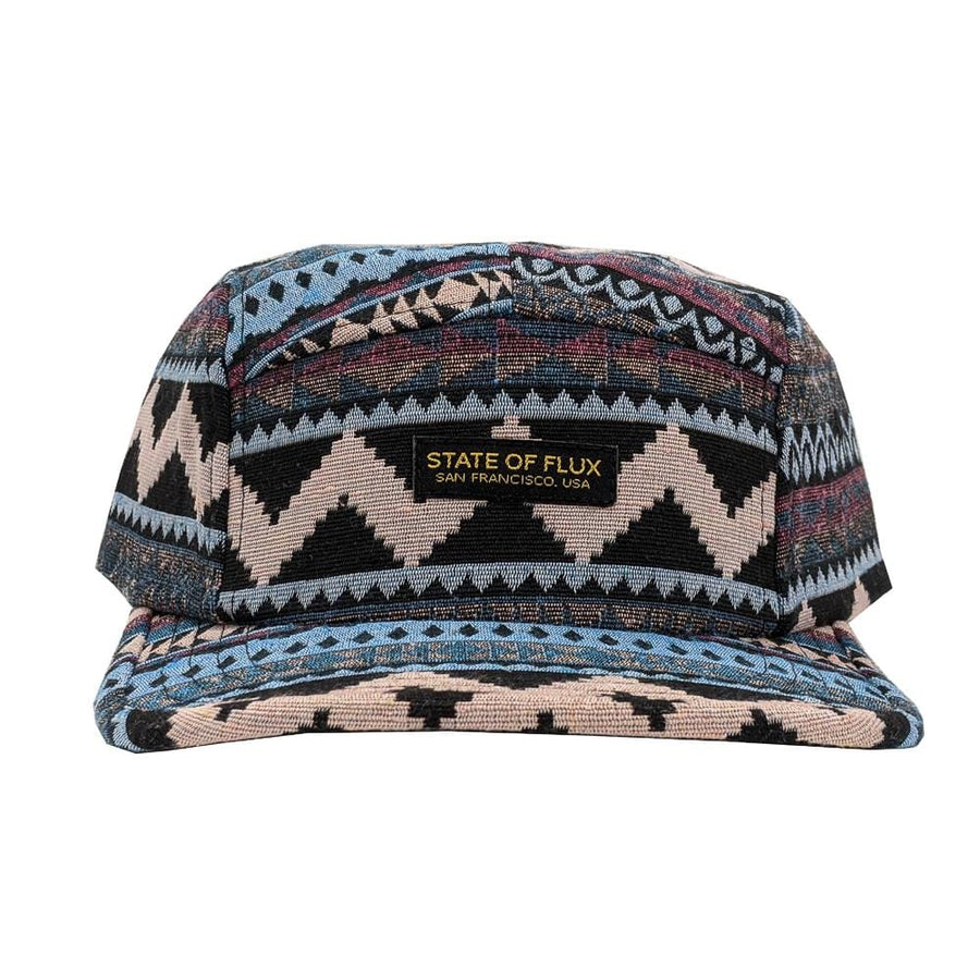 Primal 5-Panel Hat in blush and pastel blue