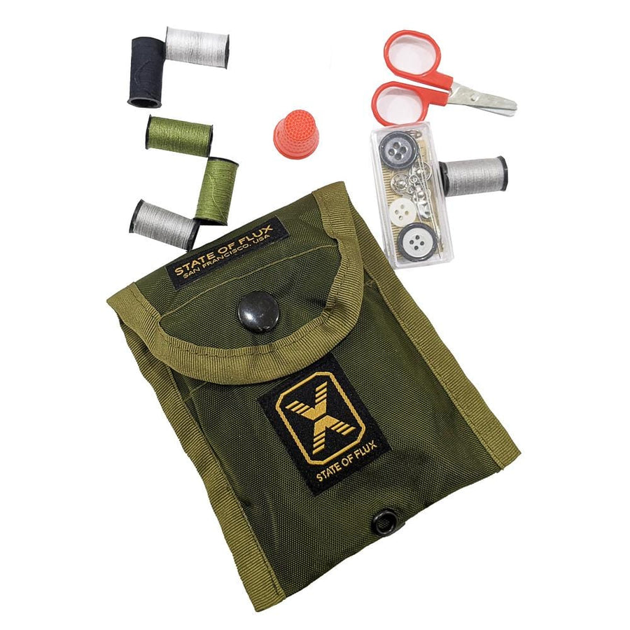 State Of Flux Tactical Sewing Kit in military green