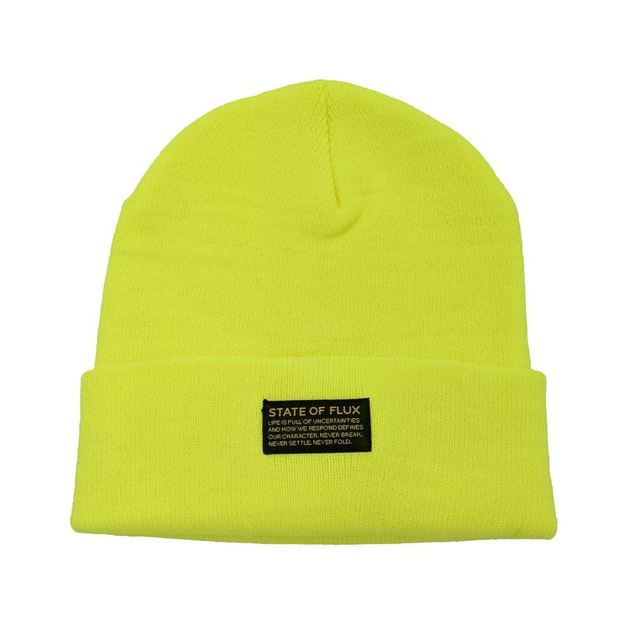 Mantra Beanie in neon yellow