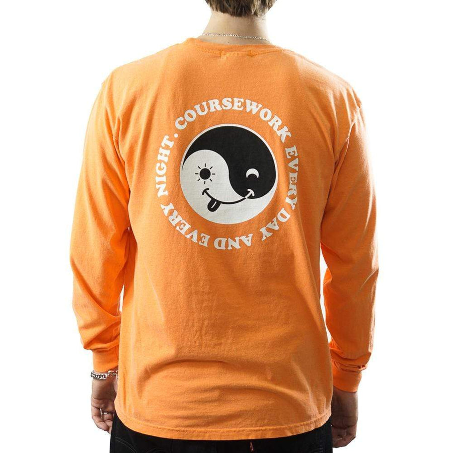 Day & Night Long-sleeve Tee in orange