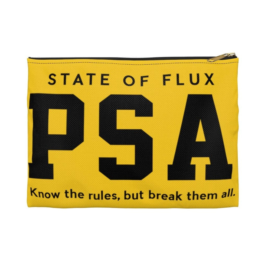 PSA Accessory Pouch in yellow and black