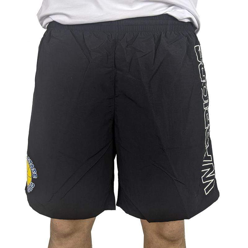Golden State Warriors Nylon Short in black
