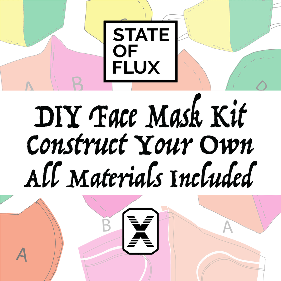 DIY Face Mask Kit in navy