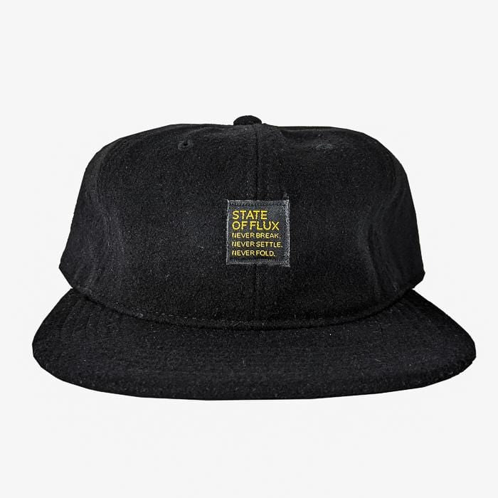Never Break Wool Cap in black