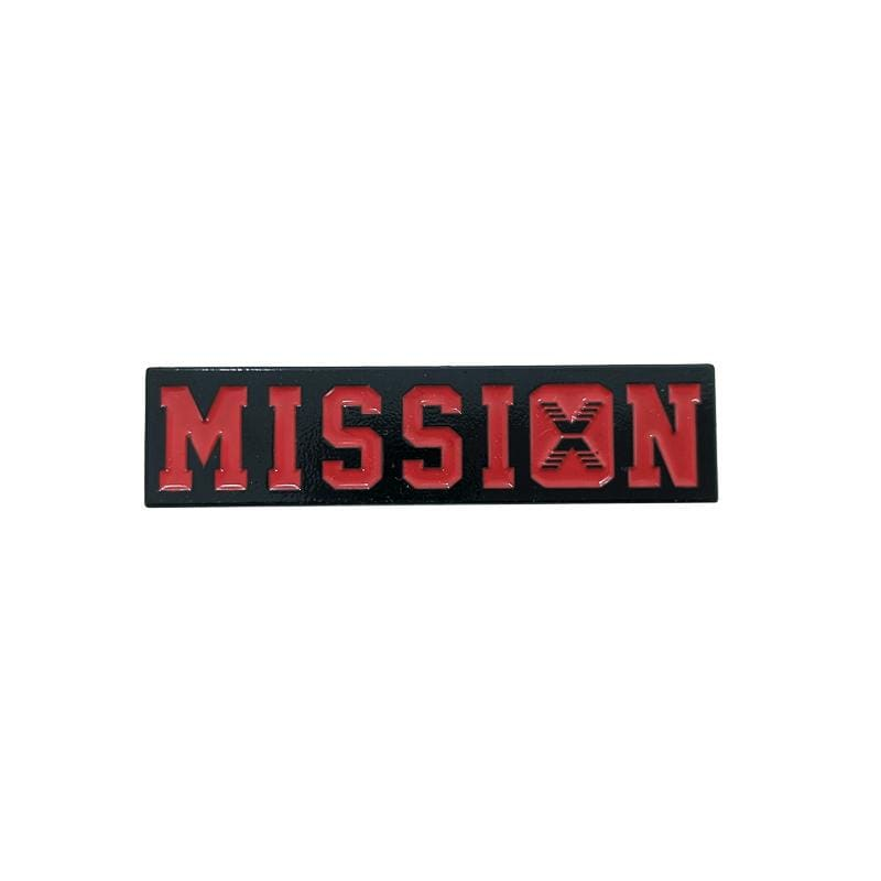 Still On A Mission Pin in red and black