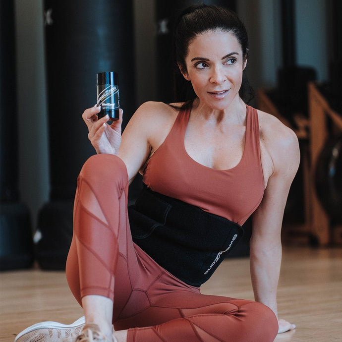 Janine Delaney's Home Workouts Make Her Sweat Like She's in the Gym