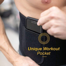 Load image into Gallery viewer, Waist Trimmer Workout Sweat Belt SweatZone