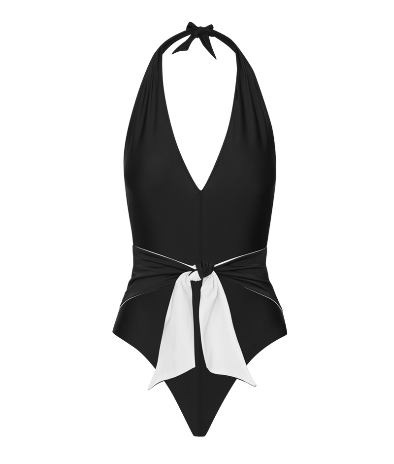 The Tie Front One Piece
