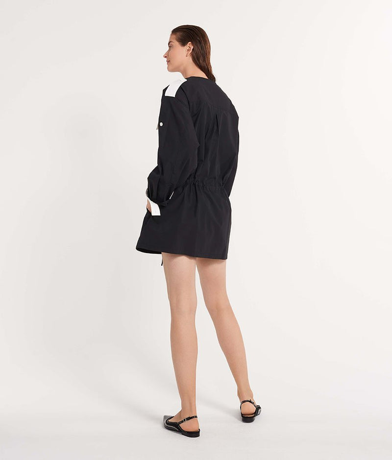 The Anorak Dress Black
