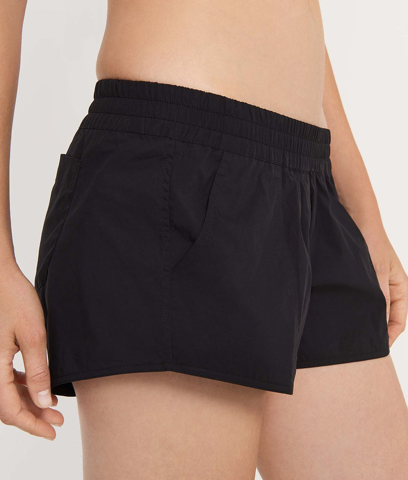 The Short Board Short Black