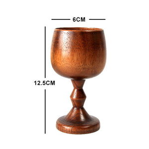 Vintage Handmade Wooden Chalice - Positively Souled