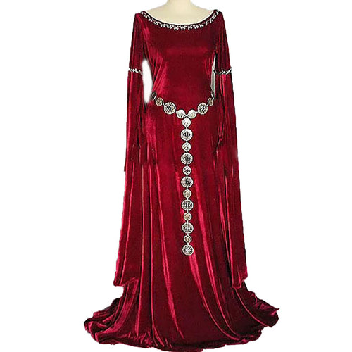 Medieval Priestess Gown