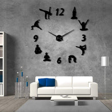 Load image into Gallery viewer, Yoga Wall Clock Mirror - Positively Souled
