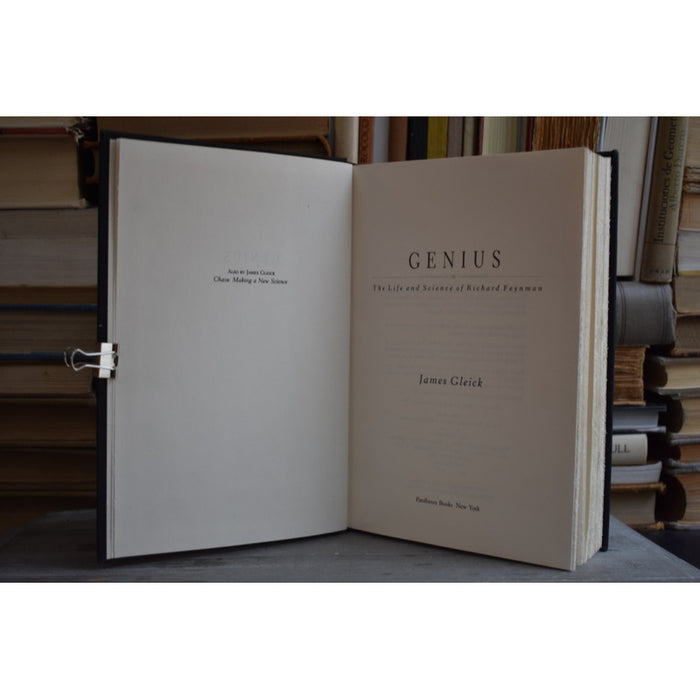 Genius: The Life and Science of Richard Feyman - Gleick [coyote]