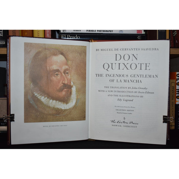 Don Quixote The Ingenious Gentleman - Cervantes [coyote]