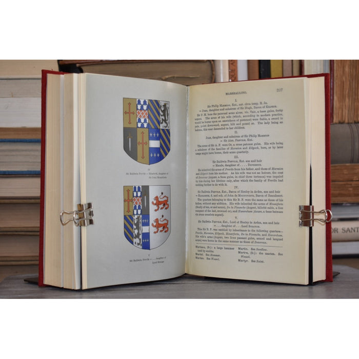 A Glossary of Terms Used in Heraldry - Parker [coyote]