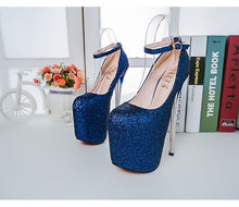 Load image into Gallery viewer, 2018 Women High Heels 20cm Fashion Shoes Party Shoes Large Size 34-47