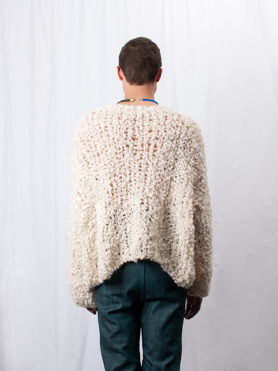 Loopy Knitted Jumper