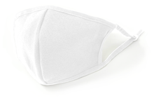 Load image into Gallery viewer, Deulex Reusable Kids Face Mask Protective (White)