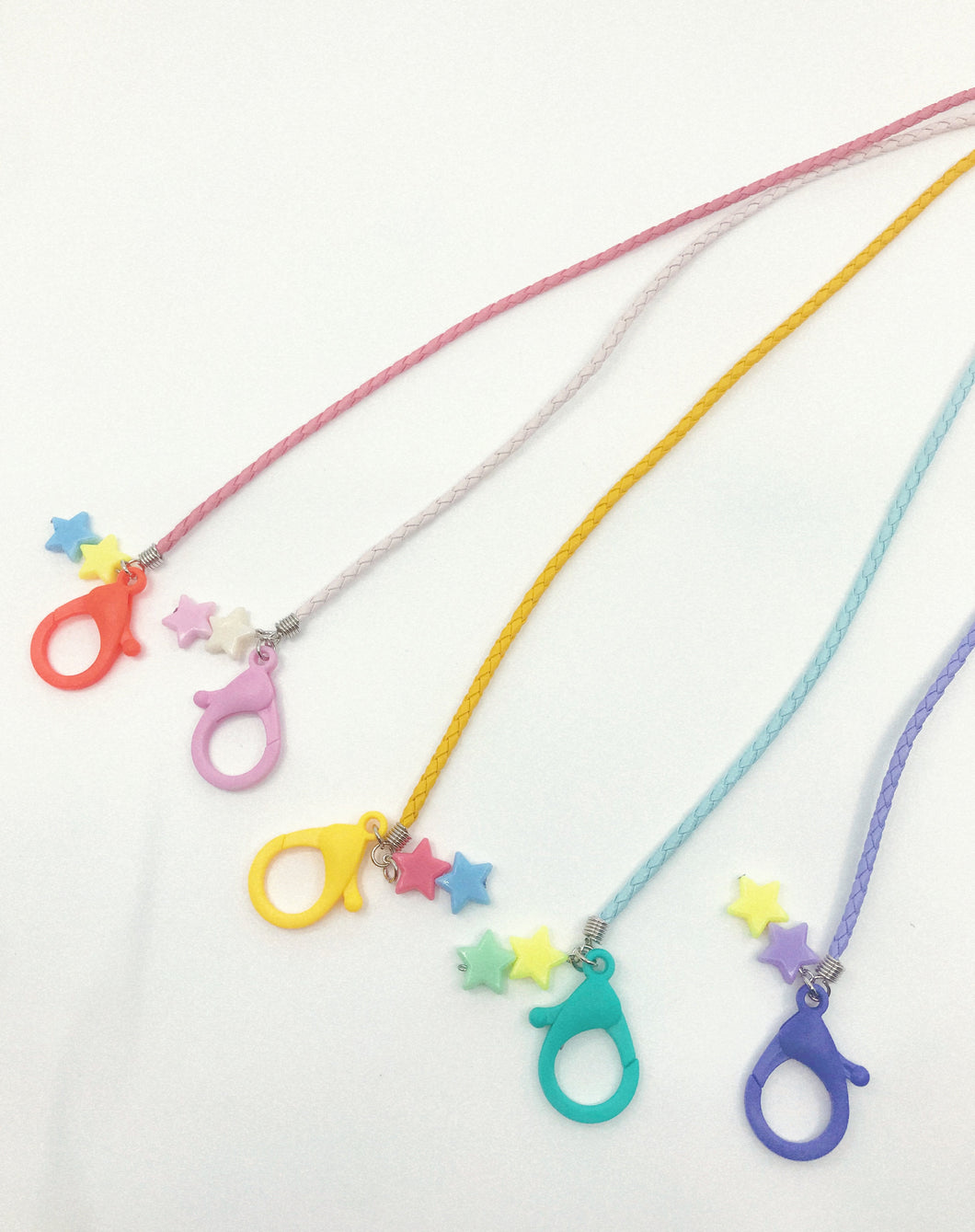 Kids Mask Holder/Girl Lanyard for Mask/ Lanyard with Star Charm