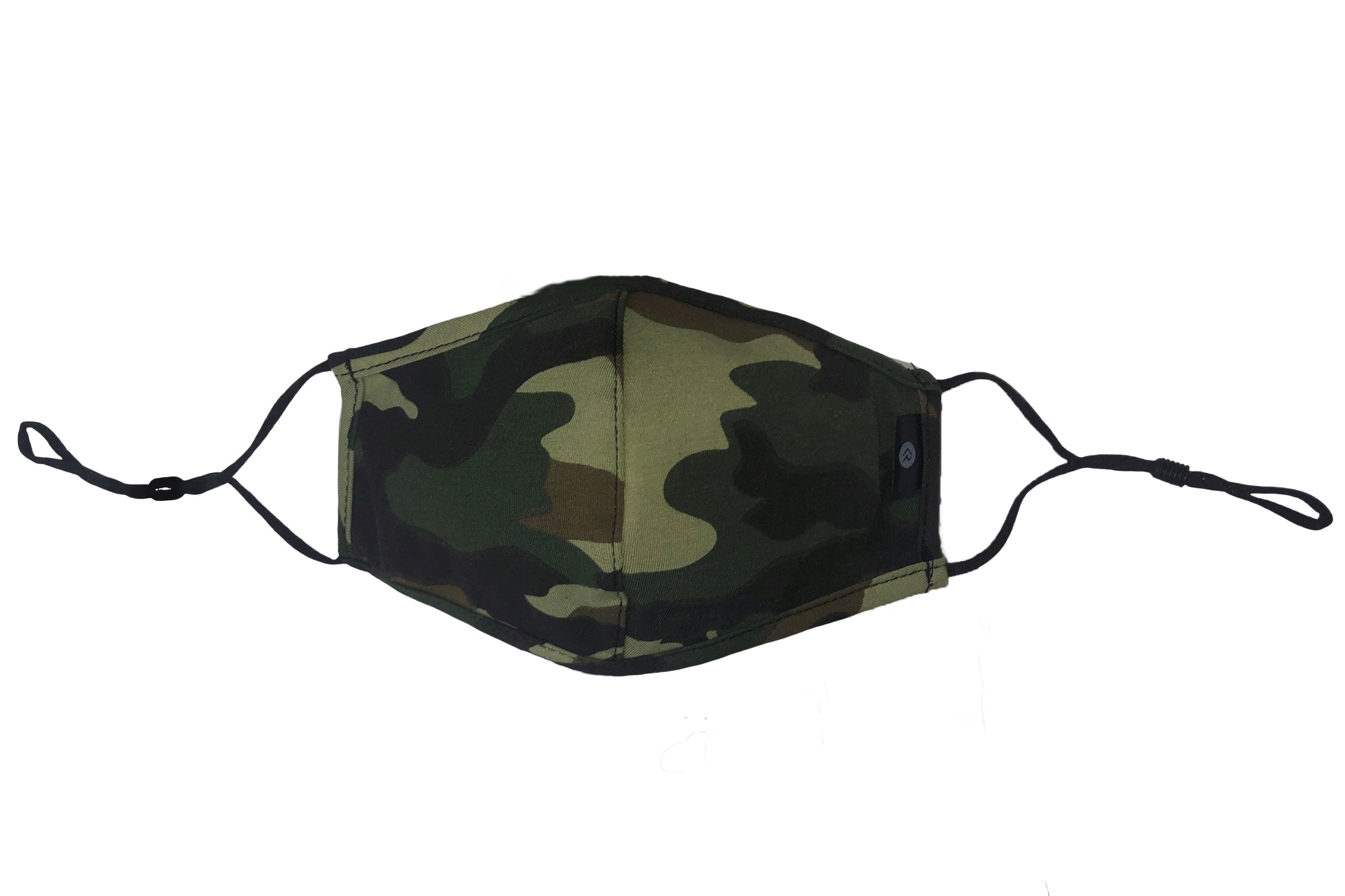 Face Mask Camo - Made In USA - Adjustable & Washable Reusable Cotton