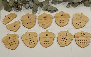 Number Matching Acorns