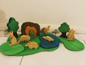 Australian Animal Playscape