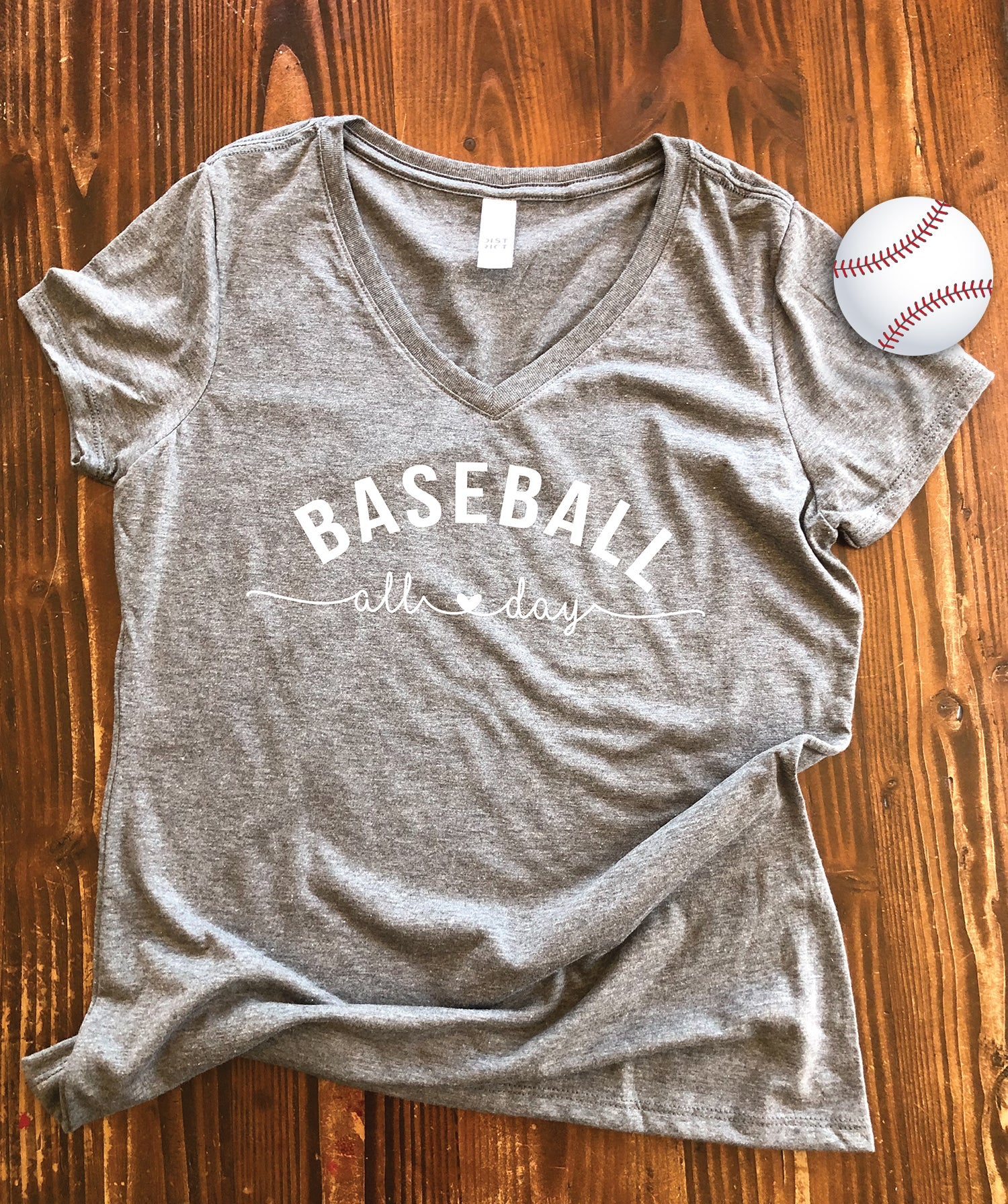 Baseball All Day Graphic Tee