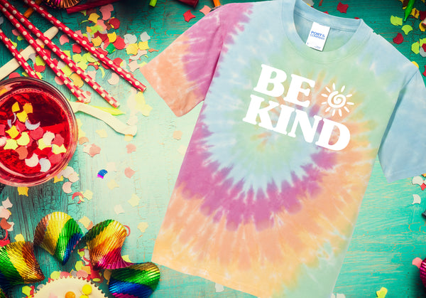 BE KIND Tie Dye Tee (Adult)