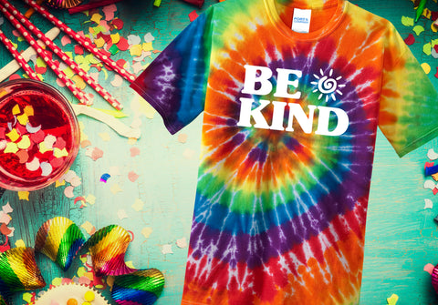 BE KIND Tie Dye Tee (Youth)
