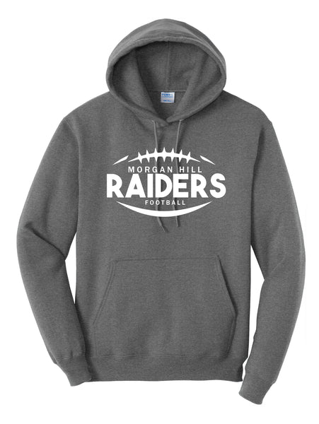 Morgan Hill Raiders Football Hoodie (Adult)