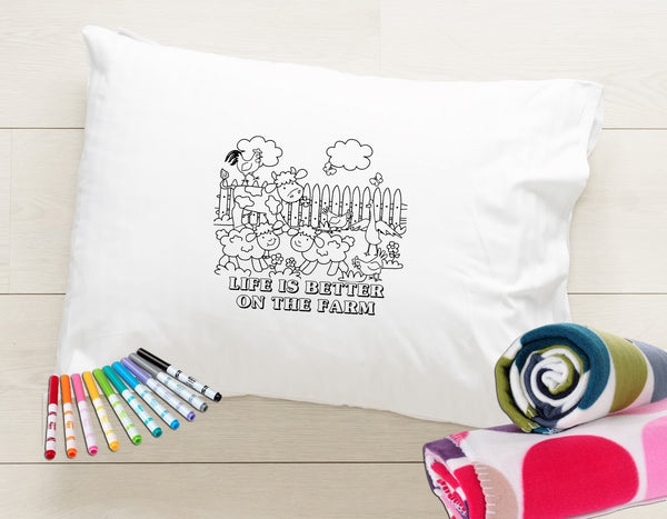 Color Me Pillowcase