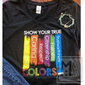 Show Your True Color Tee