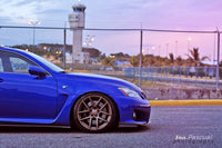 USB LEXUS ISF ON VELGEN WHEELS VMB5 BRONZE 19X9 & 19X10.5
