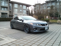 HONDA ACCORD COUPE SHOWING LOVE FROM CANADA. VELGEN VMB8 DUAL CONCAVE
