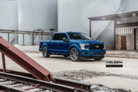 Ford F150 Lowered on Velgen Forged Truck Series  Brushed Titanium  22x10 Whipple Super Charger  Built by DDR