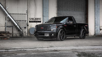 Ford F150 Tremor  Single Cab  Velgen Forged Truck series VFT6 Satin Black 22x10 aal around