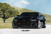 Chevy Camaro ZL1 1LE  Velgen Forged  VFMP10  Brushed Clear Centers Polish Lips.  Suspension BC Coilovers
