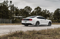 Ford Mustang S550  Eibach Suspension  Velgen VF5 Light Weight Series 20x10 & 20x11 Gloss Gunmetal