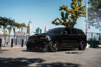 Jeep Grand Cherokee Trackhawk / Bagged / Velgen Light Weight Series Gloss Black  20x10.5 all around  305-35-20 all around