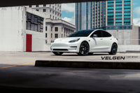 Tesla Model 3 Velgen Light weight Series VF5 Gloss Black 20x9.5 & 20x10.5 With 245-35-20 and 285-30-20 Hankook V12