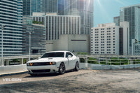 Dodge Challenger RT / Bagged  velgen Light Weight series VF5 GLoss Gunmetal  20x9.5 & 20x11  275-40-20 / 305-35-20