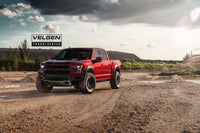 2019 Ford Raptor  Ruby Red / Velgen Forged Truck Series VFT6 18x9 Nitto Ridge Grappler 35x12.5x18 tires