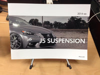 J5 Suspension & Velgen Wheels Join Together \\ J5 Catalog coming soon