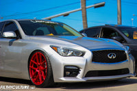 Infiniti Q50s on Velgen Wheels VMB5