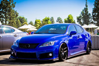 Lexus ISF on Velgen Wheels